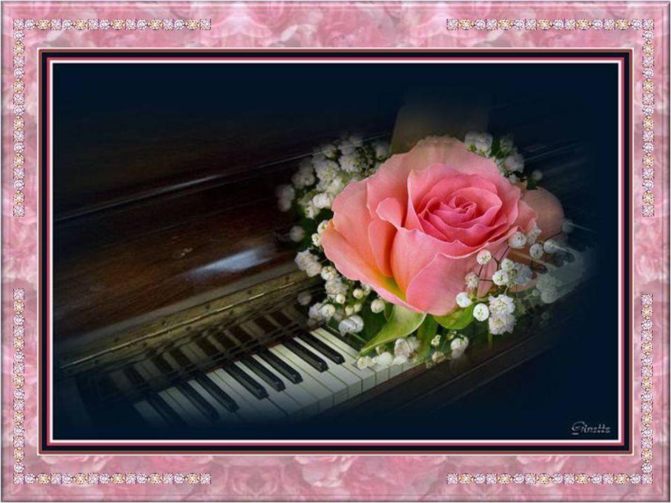 La rose a besoin damour et de liberté; Cest un crime de ne savoir laimer; Le cœur rempli damour et de mélancolie À lautomne elle sendort sous le ciel