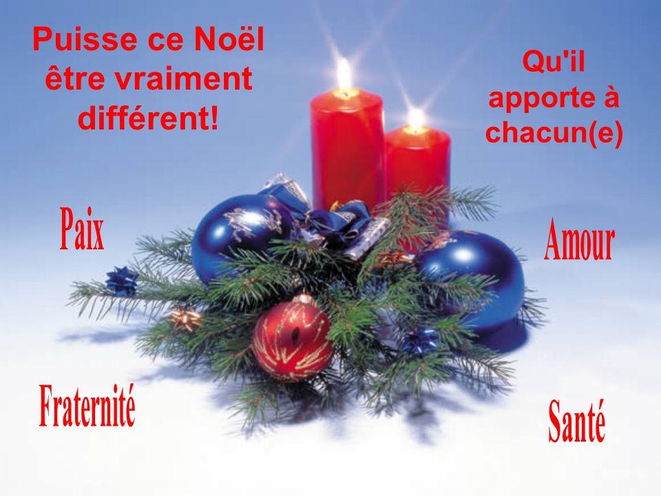 Noël dernier nous pensions à la folie qui précède la fête de Noël. Cette année à Noël nous pensons à la signification réelle de la fête de Noël.