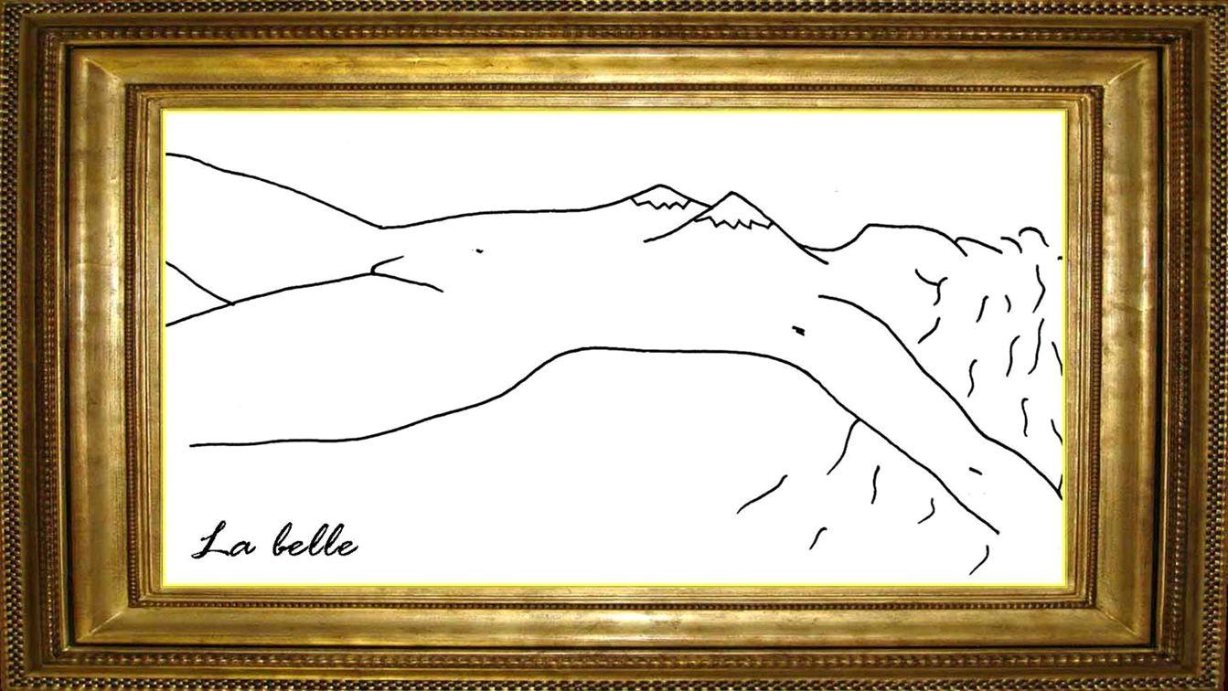 La belle La Belle Lascive, elle offre ses charmes aux regards de tous.