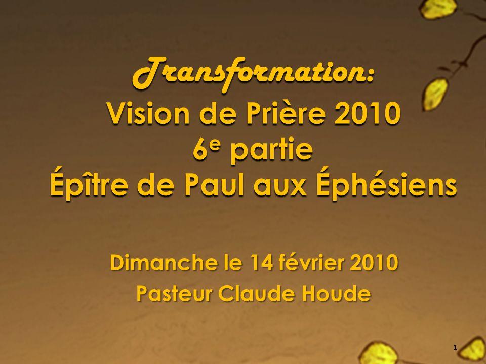 Transformation 2010: DHaïti à vous et moi, à des hommes et des femmes aux 4 coins de la Francophonie 2