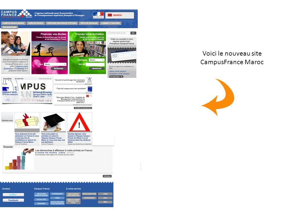 Voici le nouveau site CampusFrance Maroc