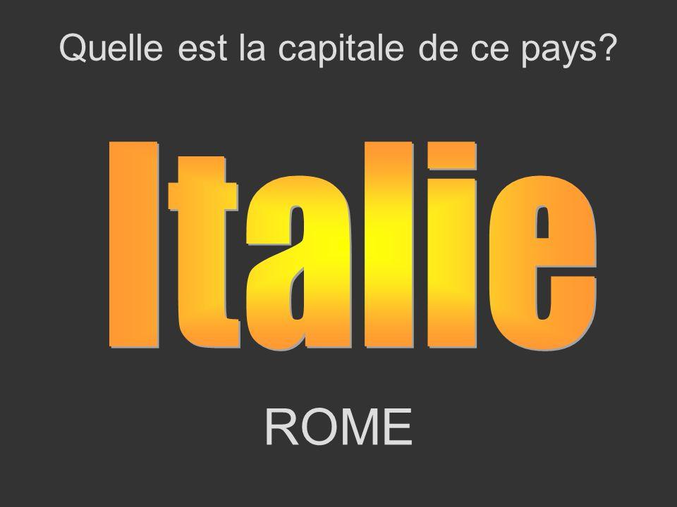 ROME Quelle est la capitale de ce pays?