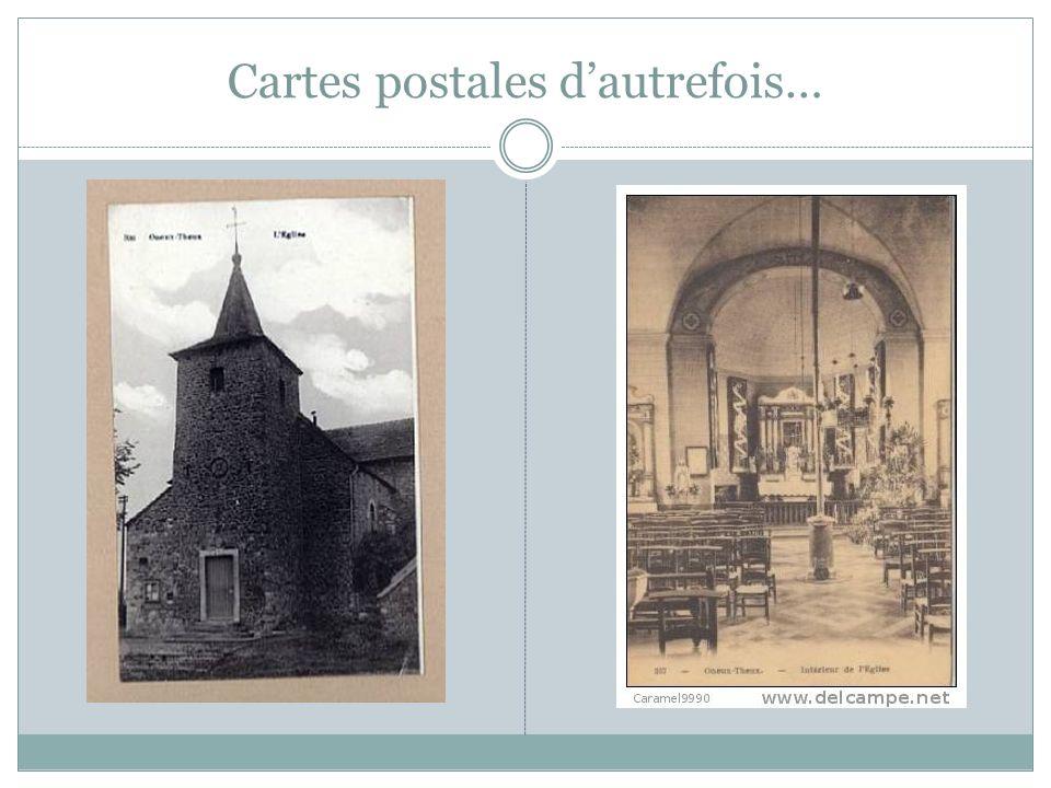 Cartes postales dautrefois…