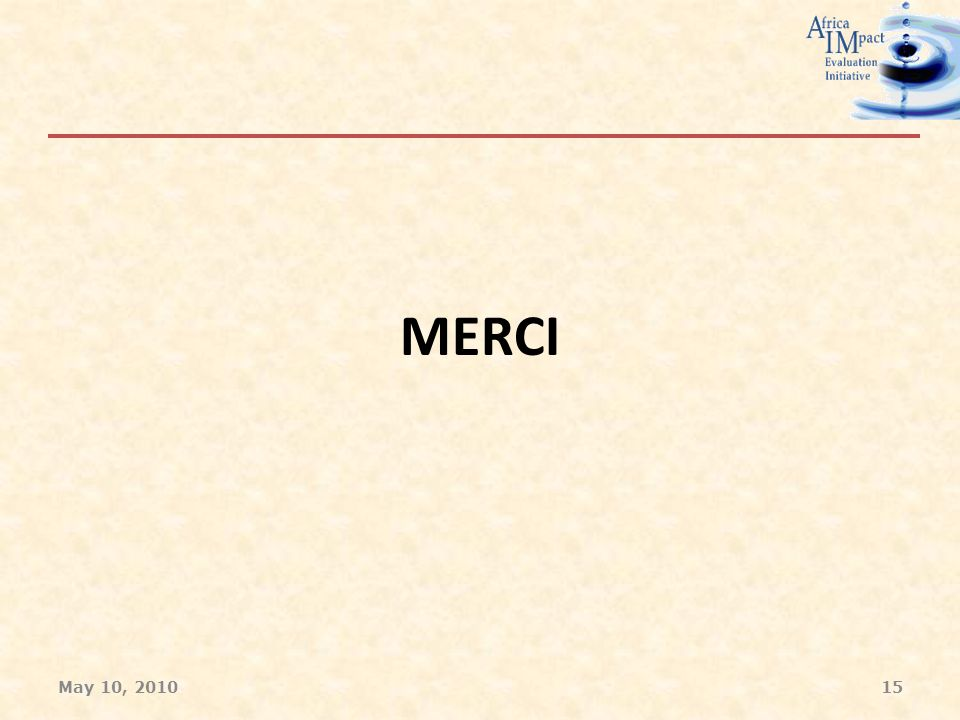 MERCI May 10, 201015