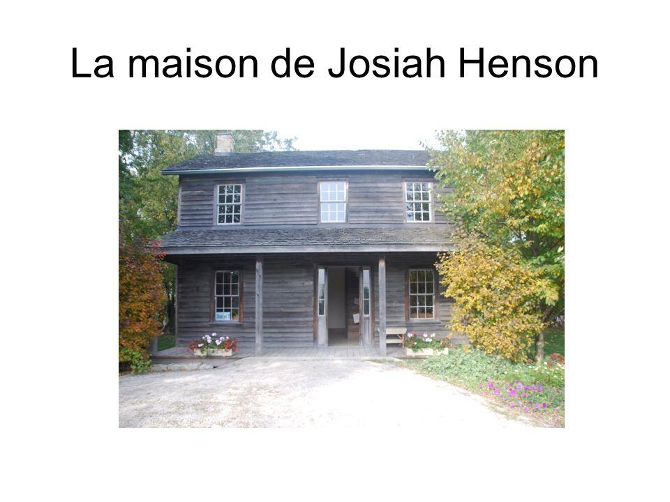 La maison de Josiah Henson