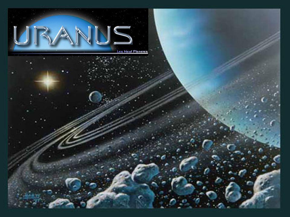 Uranus a été découverte par William Herschel en 1781 Son diamètre est de 51 800km et orbite autour du soleil en 84,01 dannées terrestres.