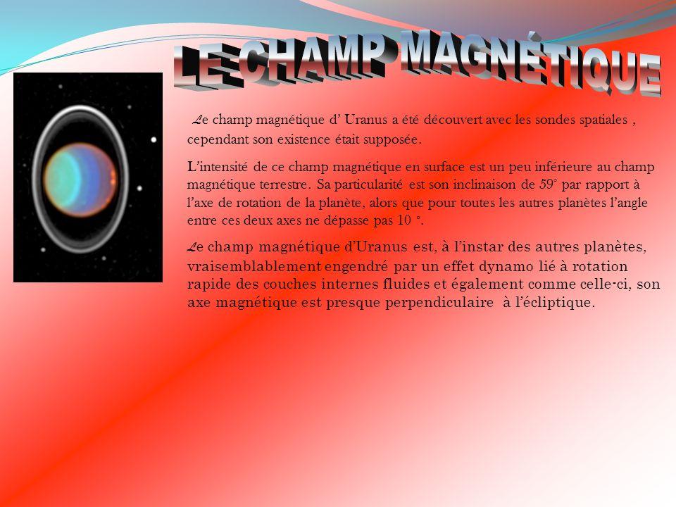 Wilhem Herschel né en 1738 à Hanvore (Nord de l Allemagne), a découvert Uranus.