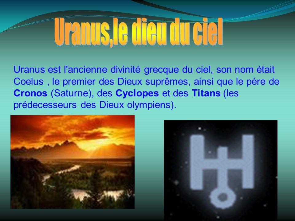 Les satellites dUranus sont: Ophélia,Bianca, Cressida, Perdita, Desdemona, Juliet, Portia et Rosalind tous découverts en 1986,Belinda découvert en 1982, Puck découvert en 1985, Miranda découvert en 1948,Ariel en 1851,Umbriel découvert en 1851.Titania et Obéron,les deux plus grands découverts en 1787.Cabilon découvert en1997,Stephano en1999,Sycorax découvert en1997,Prospero découvert en 1999 Cupid, Mab, Francisco, Margaret, Fredinand découverts en 2003,Caliban découvert en 1997 et Trinculo découvert en 2001.