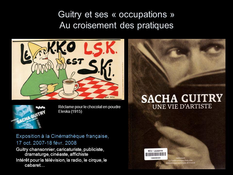 Guitry pendant lOccupation LAuteur et lHistoire La dimension politique des films de Guitry (F.Albera, 1895, nº54, pp.
