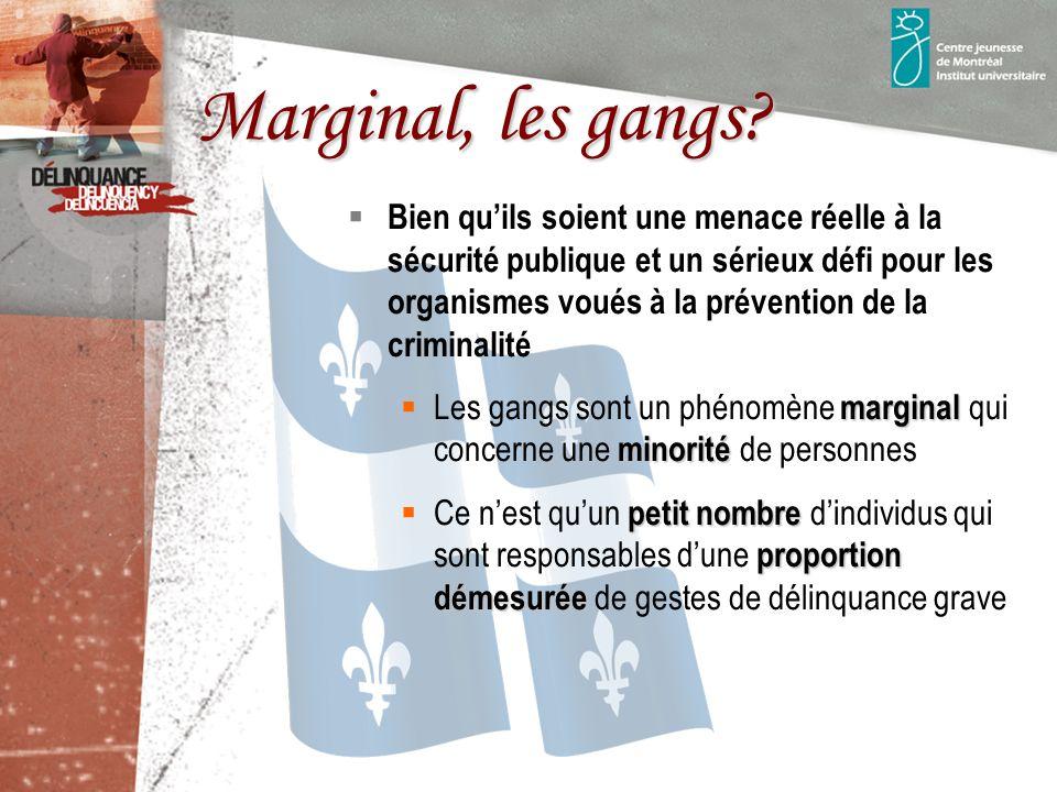 Marginal, les gangs.