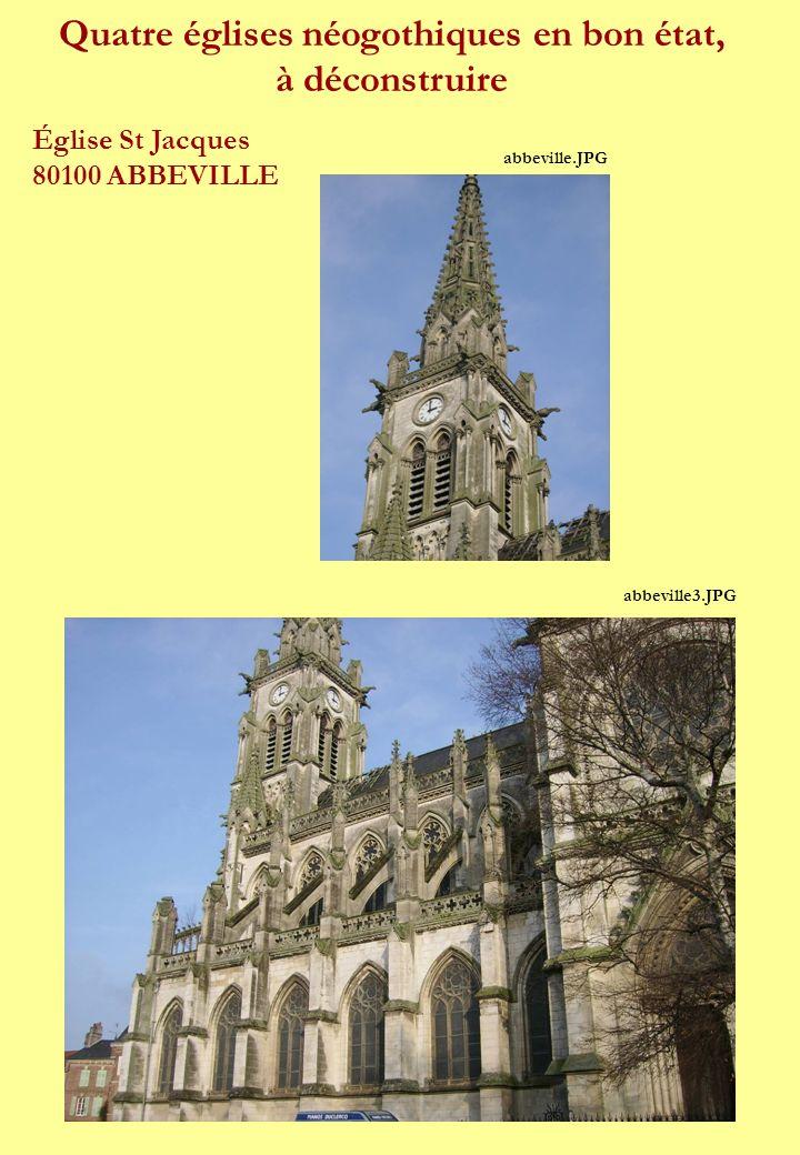 Cette église du XIX° devrait disparaître.