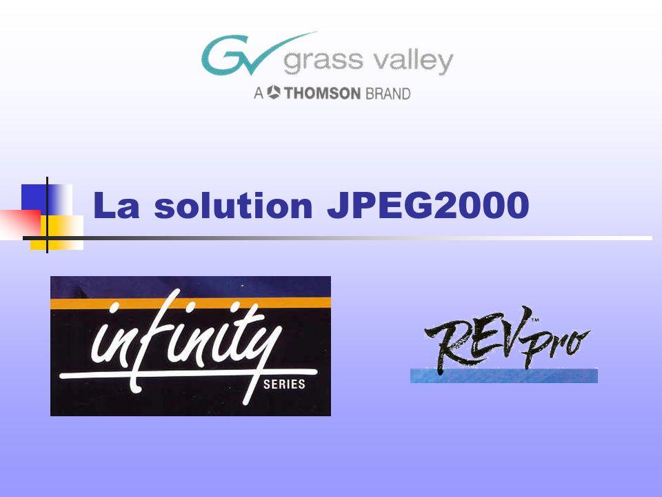La solution JPEG2000