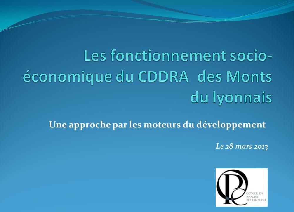 Une approche par les moteurs du développement Le 28 mars 2013