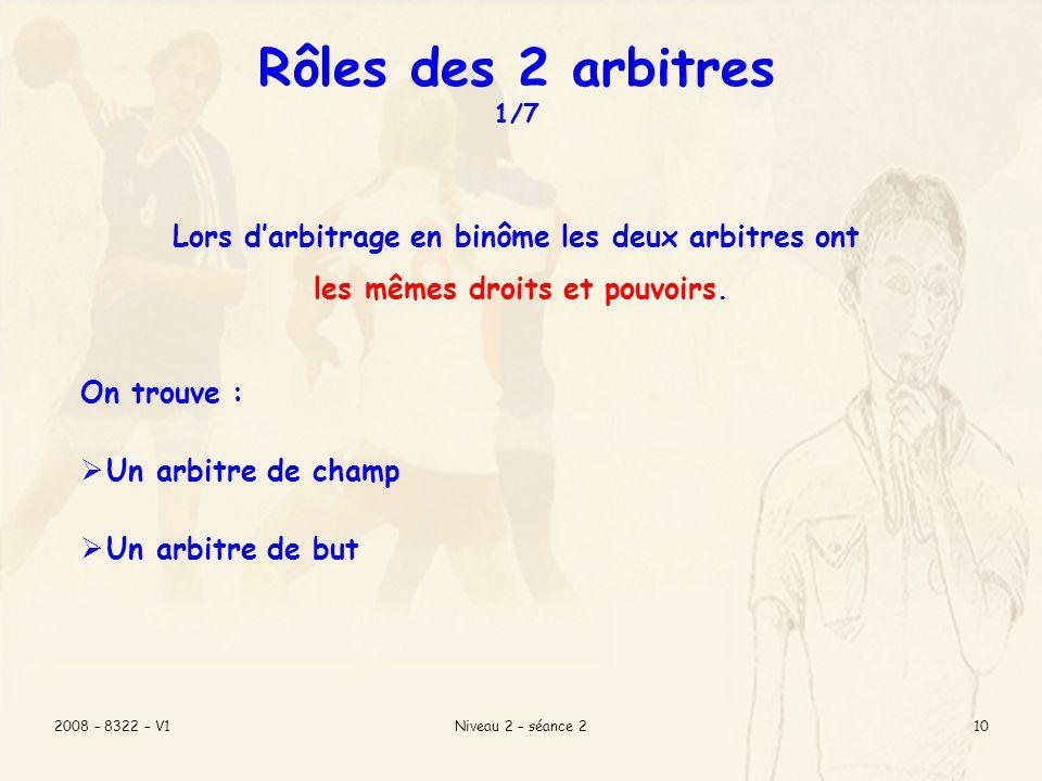 2008 – 8322 – V1Niveau 2 – séance 29 Veiller à ce que tout se passe bien entre les joueurs, Compléter la feuille de match en présence des 2 capitaines