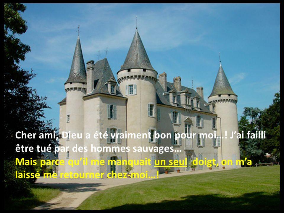 À son retour au palais, il autorisa la libération de son esclave quil reçut très affectueusement… Le roi lui dit: