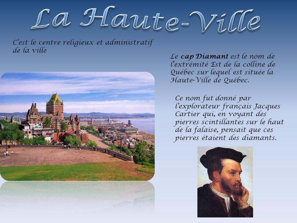 Le cap Diamant est le nom de l'extrémité Est de la colline de Québec sur lequel est située la Haute-Ville de Québec. Ce nom fut donné par lexplorateur