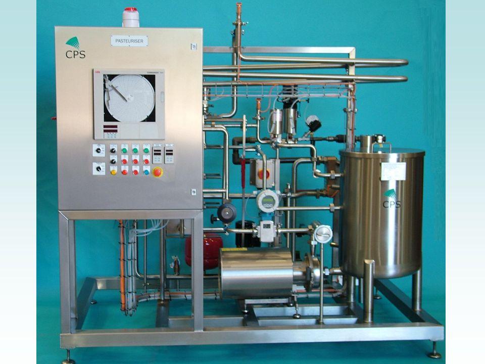 Procédé UHT UHT est labréviation de ultra haute température. Dans ce procédé, le lait est chauffé durant quelques secondes à une température entre 135