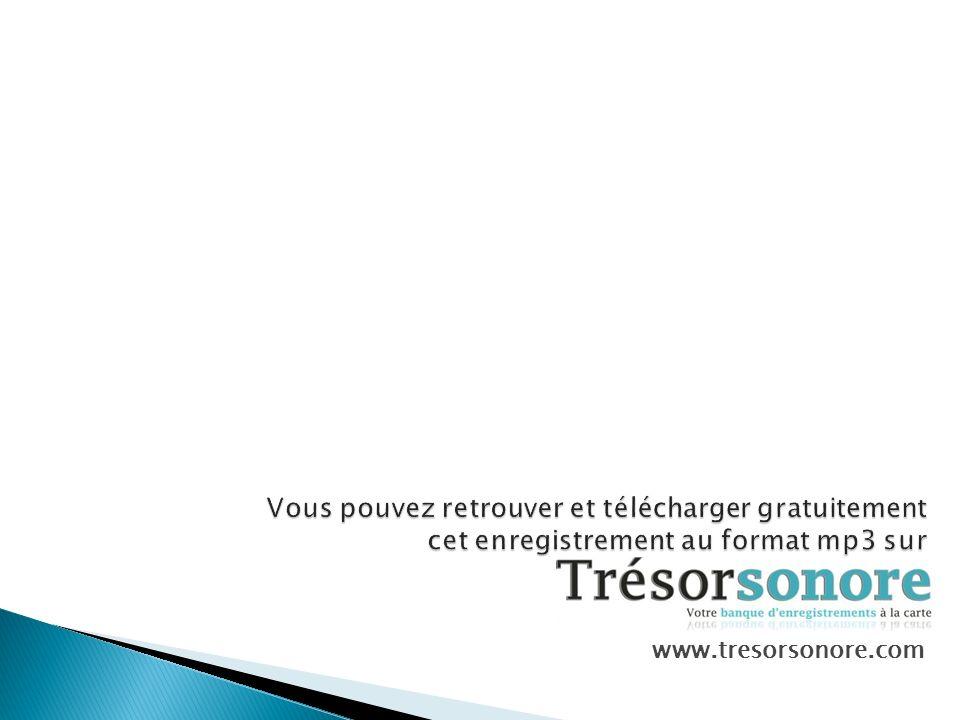 www.tresorsonore.com