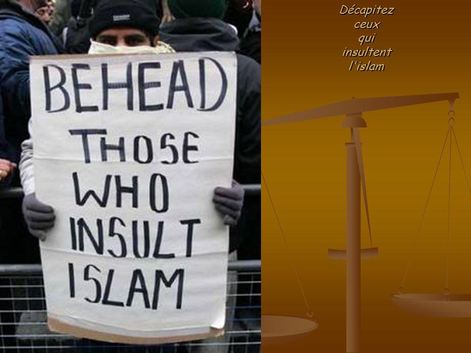 Décapitezceuxquiinsultentl islam
