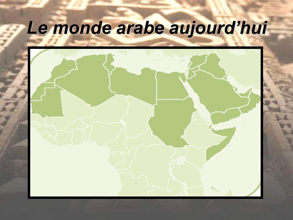 Le monde arabe aujourdhui