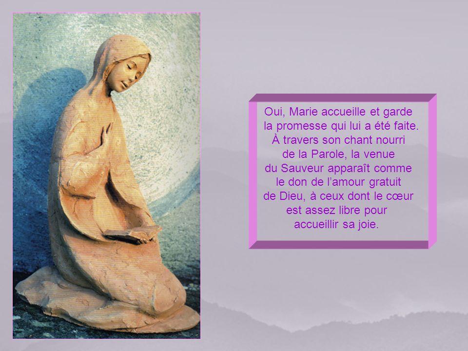 Ils accueilleront ses merveilles comme le fit Marie dont on reprend aujourdhui le Cantique.