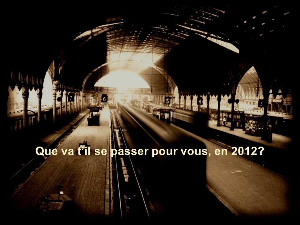 2012 Le train de la vie
