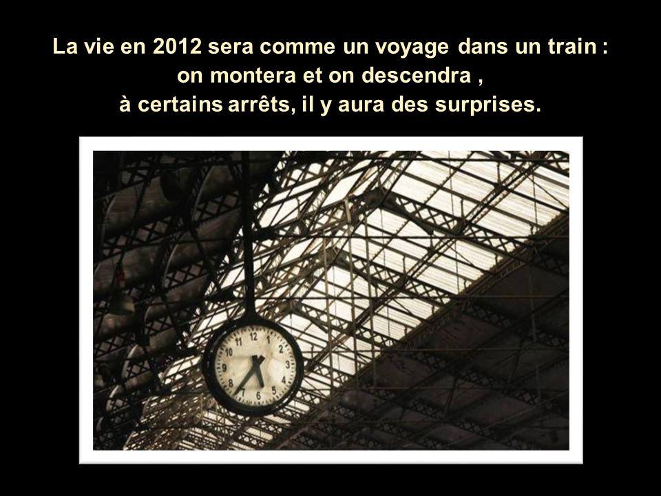 Que va til se passer pour vous, en 2012?