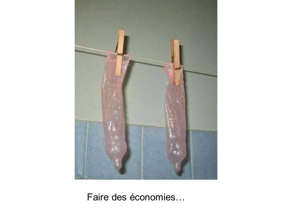 Faire des économies…