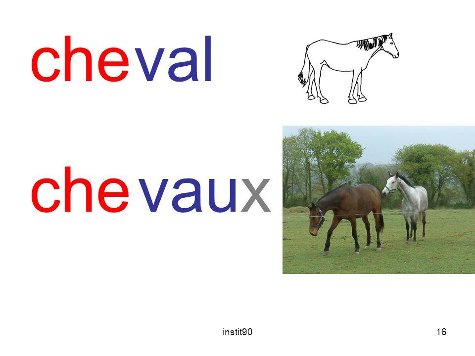 instit9016 cheval chevaux