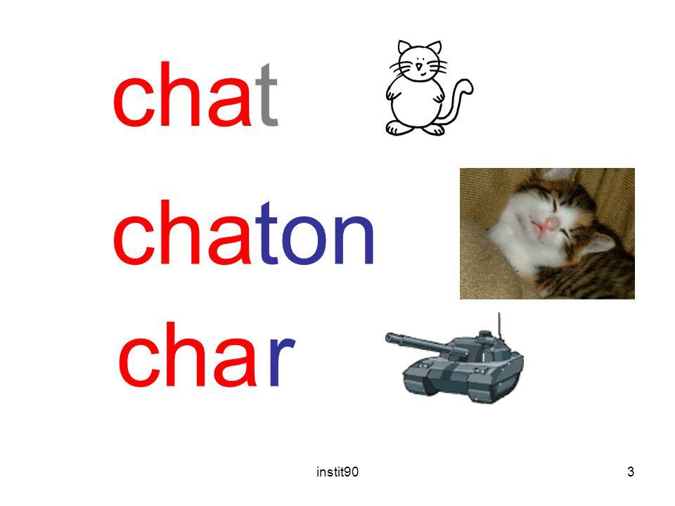 instit903 chat ton r cha