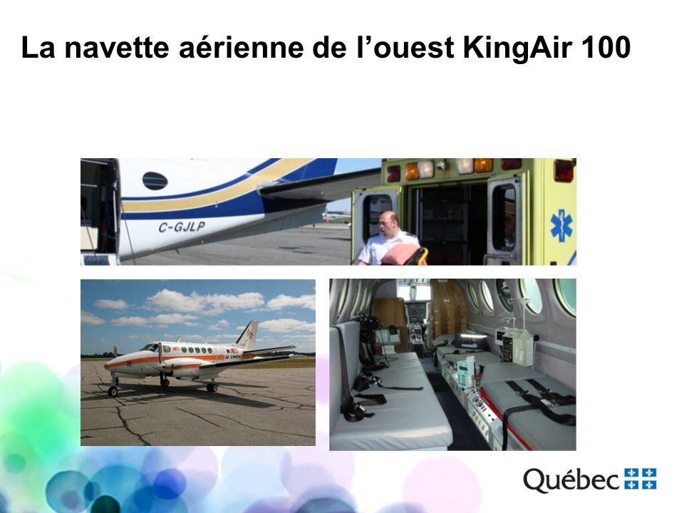 La navette aérienne de louest KingAir 100