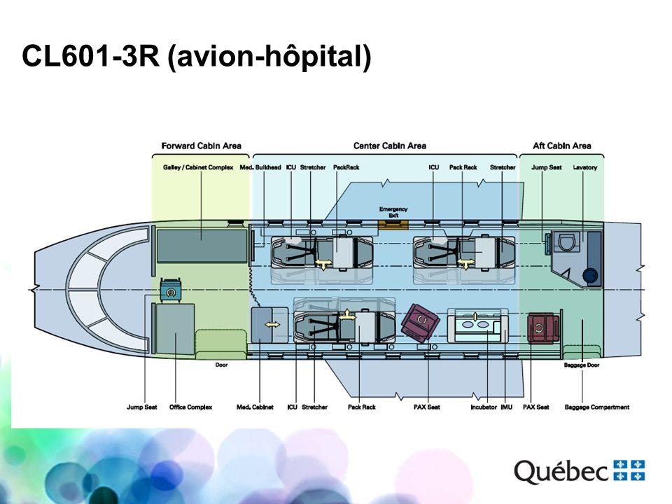 CL601-3R (avion-hôpital)