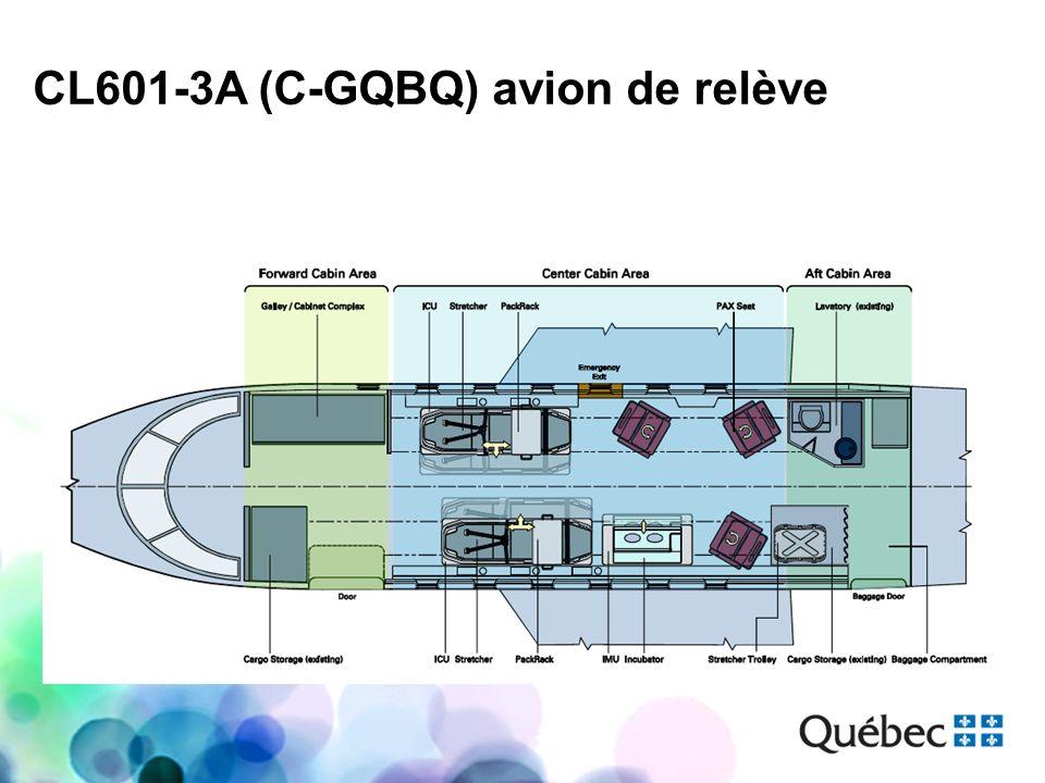 CL601-3A (C-GQBQ) avion de relève