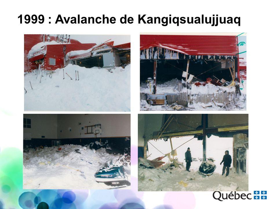 1999 : Avalanche de Kangiqsualujjuaq