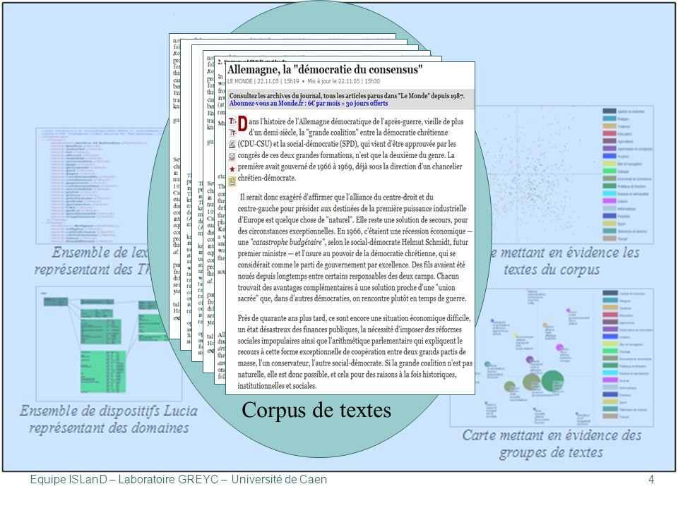 4 Corpus de textes