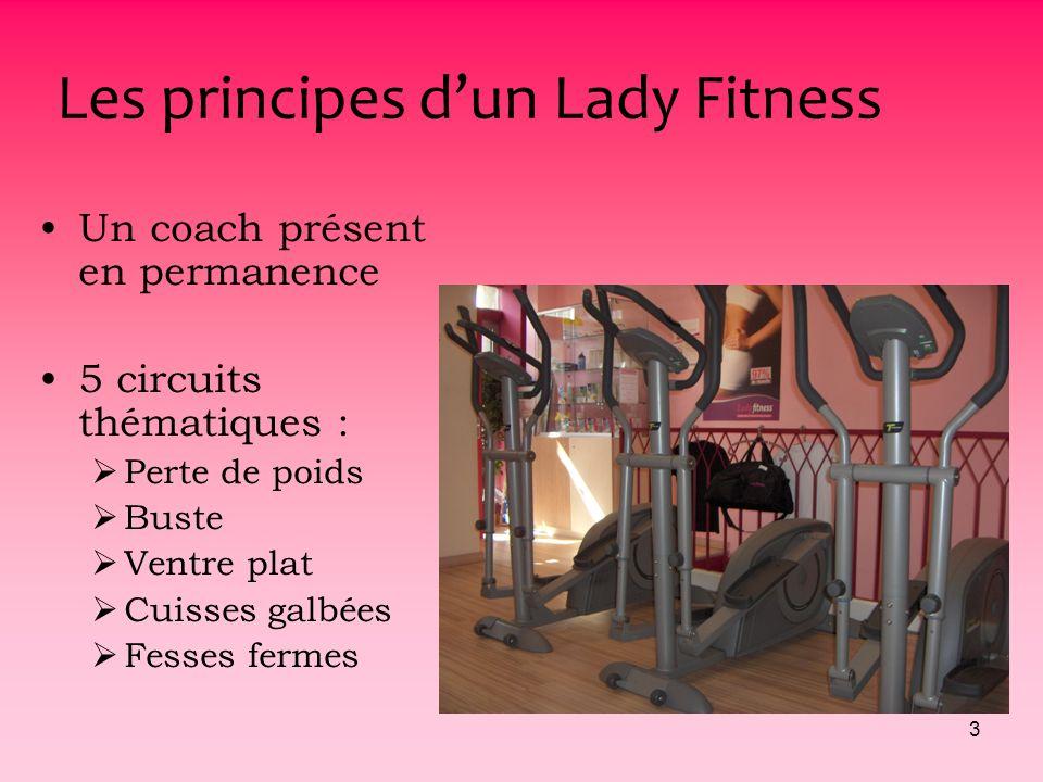 2 LA STRUCTURE Les principes dun Lady Fitness Le public La concurrence