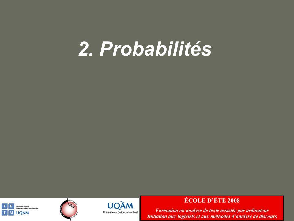 2. Probabilités