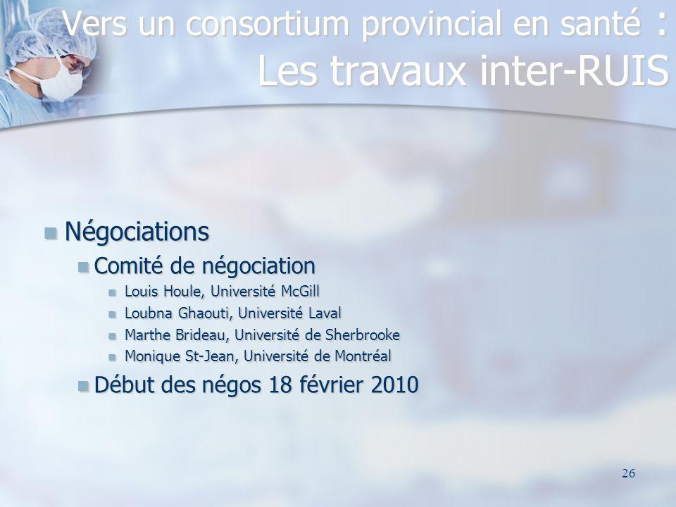 26 Négociations Négociations Comité de négociation Comité de négociation Louis Houle, Université McGill Louis Houle, Université McGill Loubna Ghaouti,