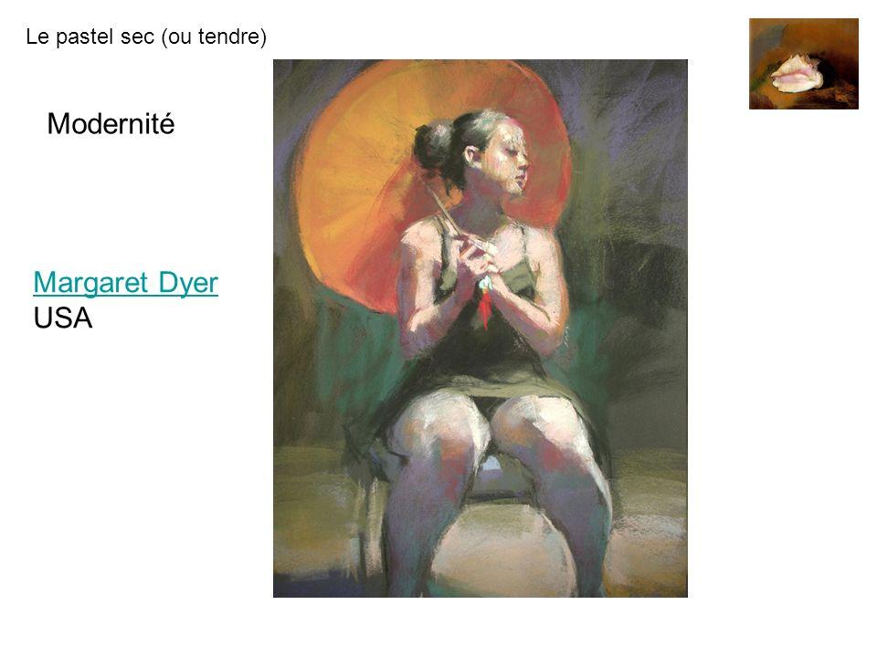 Le pastel sec (ou tendre) Margaret Dyer Margaret Dyer USA Modernité