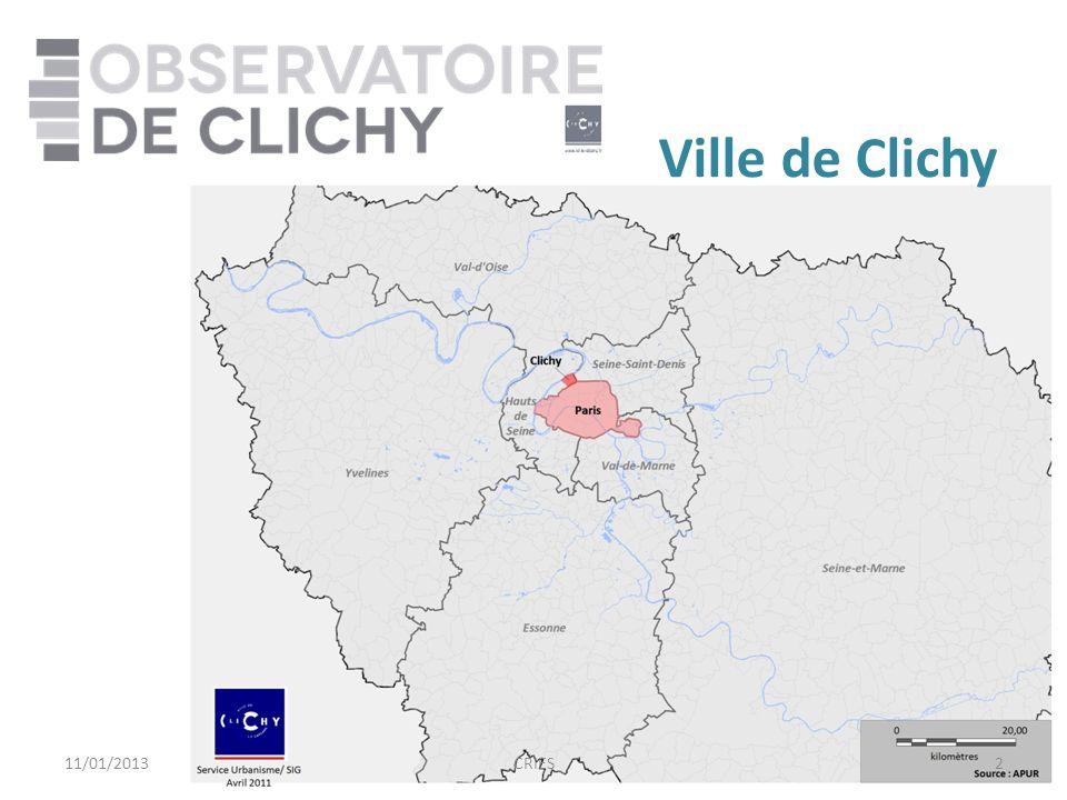 2 Ville de Clichy 11/01/2013CRIES