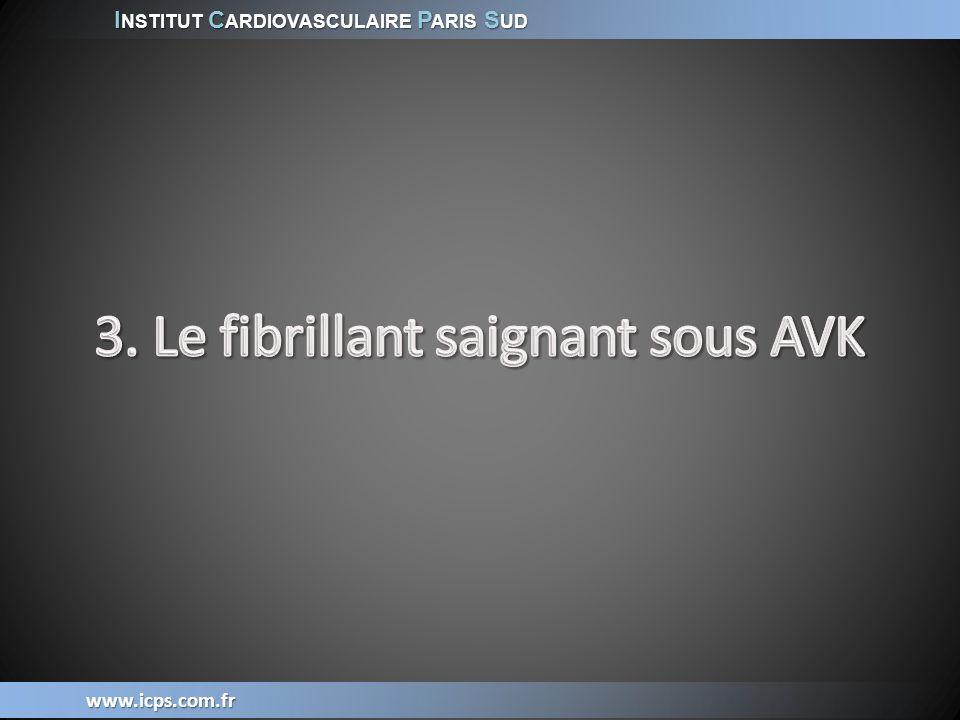 I NSTITUT C ARDIOVASCULAIRE P ARIS S UD www.icps.com.fr