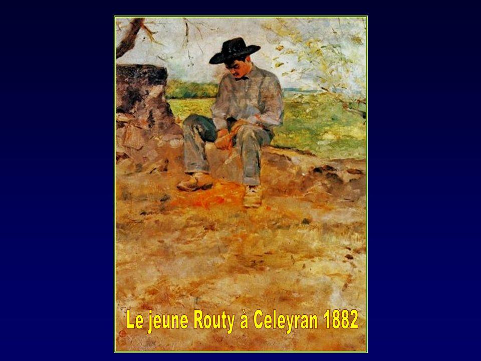 Un laboureur à Céleyran.