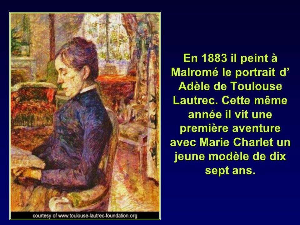 Il y rencontre également Vincent Van Gogh avec lequel il se lie damitié et peint aussi son portrait.