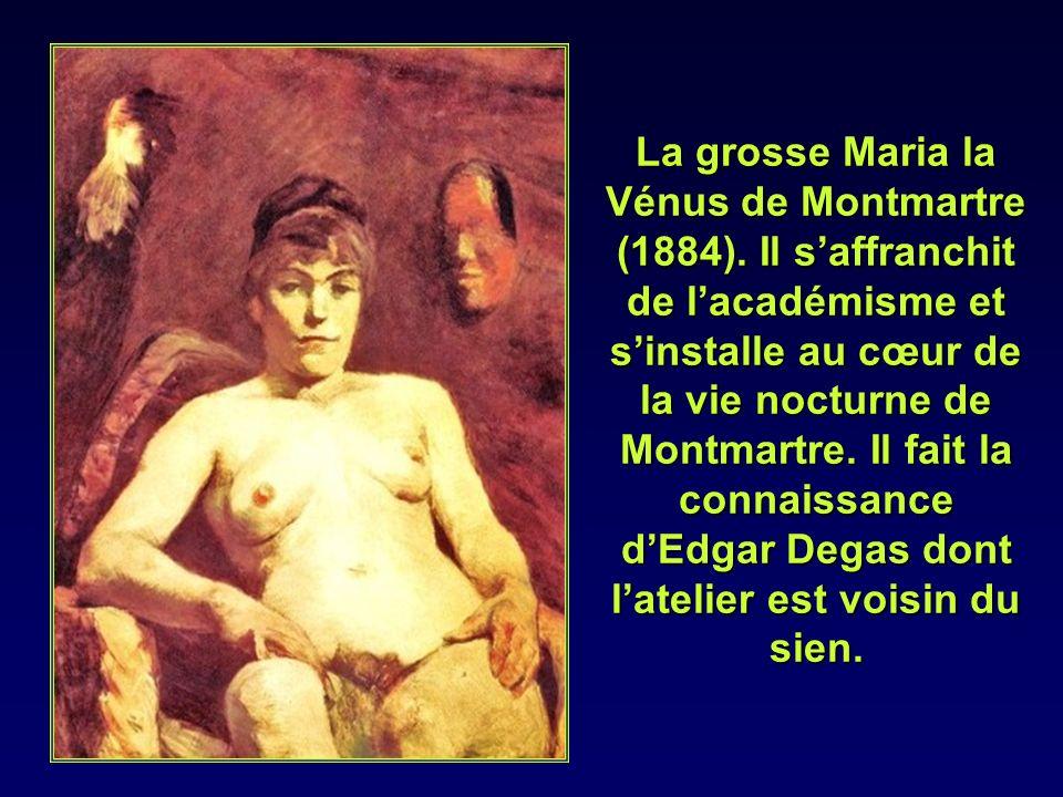 En 1883 il peint à Malromé le portrait d Adèle de Toulouse Lautrec.