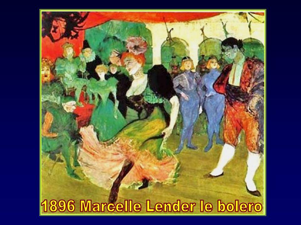 La danseuse Yvette Guilbert dite La Goulue peinte à lentrée du Moulin- Rouge sera son modèle aussi mais il sen détachera en raison de son caractère et sa vulgarité.