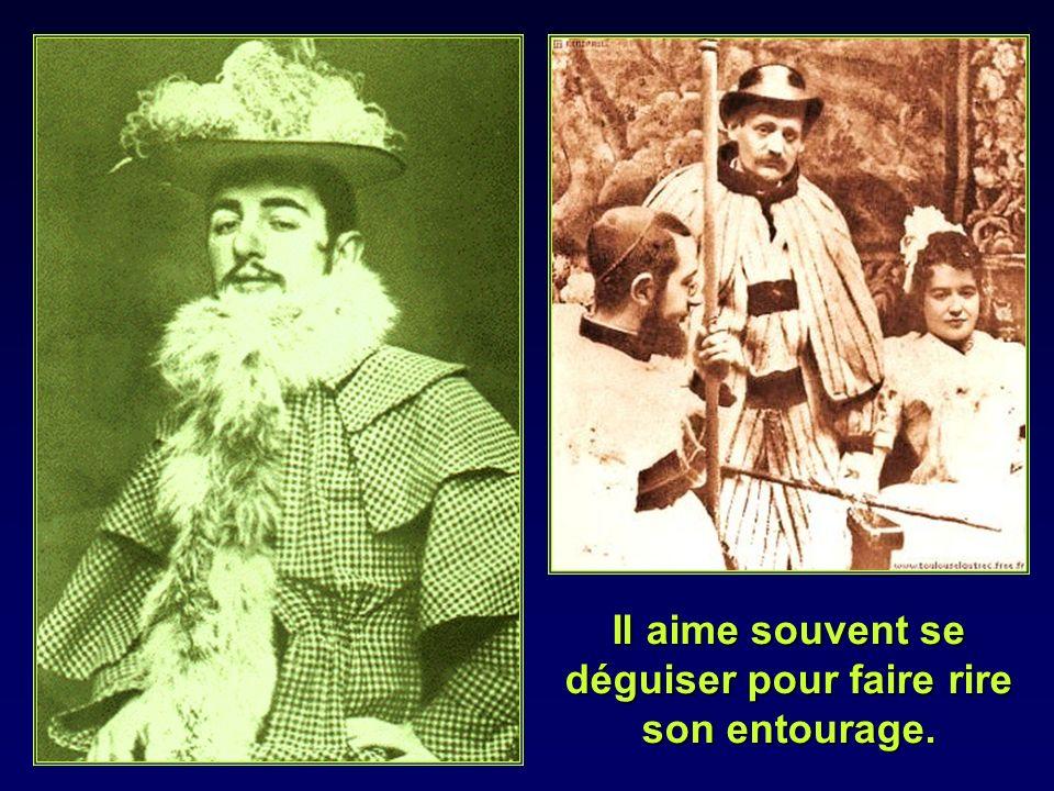 Avec humour il nhésite pas à sauto caricaturer dans le « Mirliton », « Le rire » ou «Le Figaro Illustré »