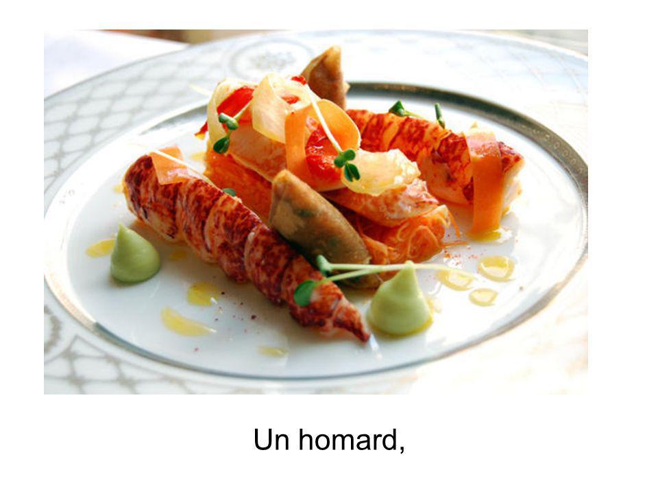 Un homard,