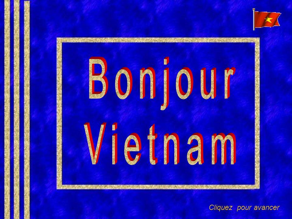 Un jour, jirai là bas, te dire bonjour, Vietnam.