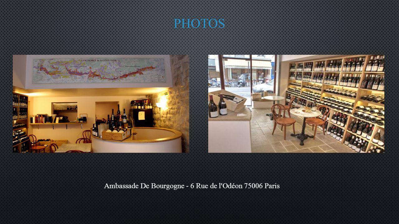 Ambassade De Bourgogne - 6 Rue de l Odéon 75006 Paris