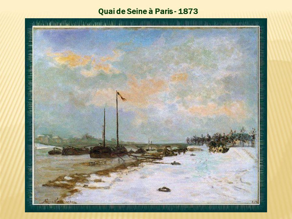 La Seine à Paris - vers 1873